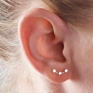 Stars ear cuffs